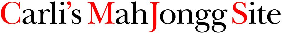 Carli's Mah Jongg Site